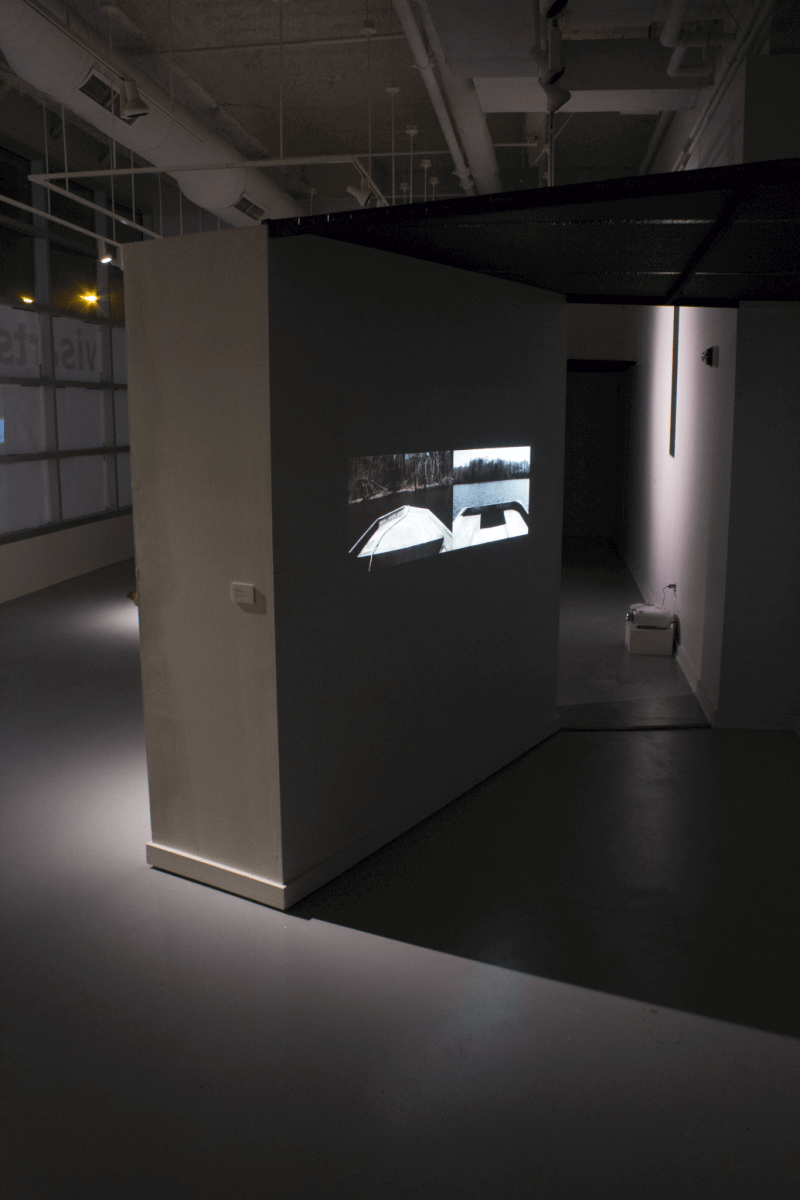 Adrift Beyond The Wall - Installation
